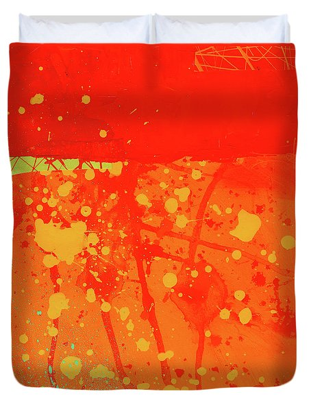 Splash 6 Duvet Cover by Jane Davies