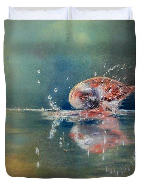 Splash Duvet Cover by Ceci Watson