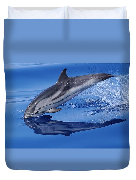 Splash Down Duvet Cover