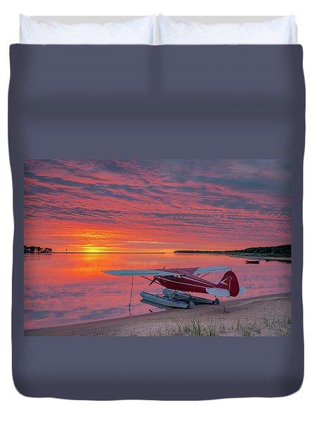 Splash-in Sunrise Duvet Cover