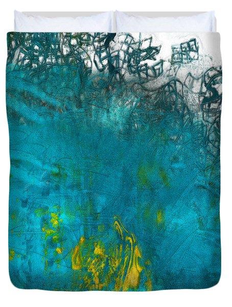 Splash Duvet Cover by Jack Zulli