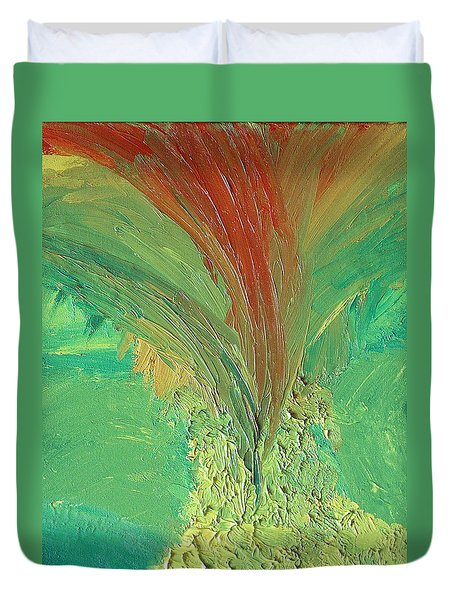 Splash Duvet Cover by Karen Nicholson
