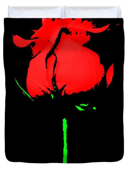 Splash Of Ink Duvet Cover