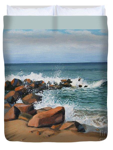 Splash Duvet Cover by Paul Walsh