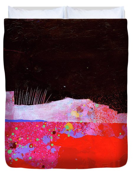 Splash#3 Duvet Cover by Jane Davies
