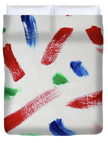 Splatter Duvet Cover