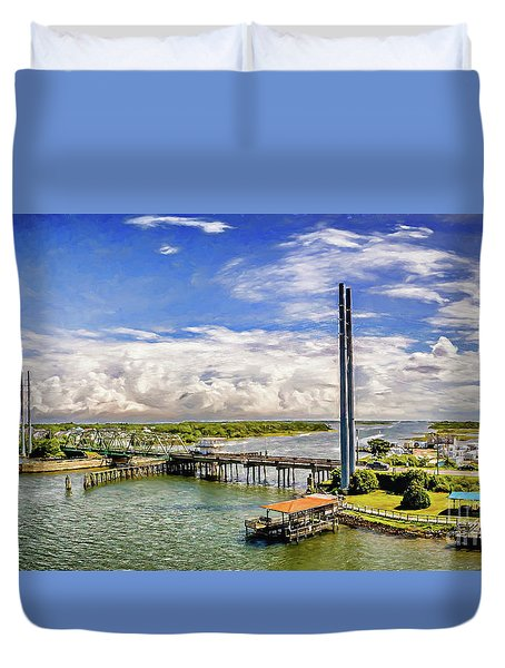 Splendid Bridge Duvet Cover
