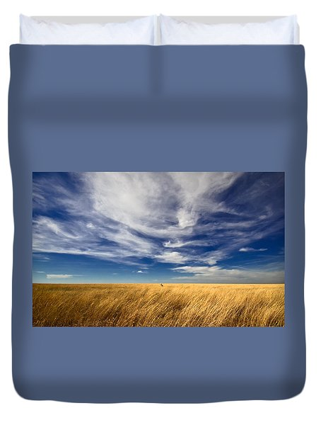 Splendid Isolation Duvet Cover