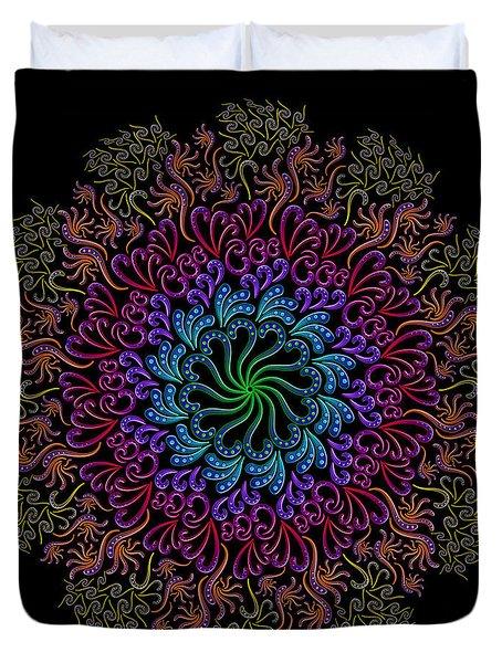 Splendid Spotted Swirls Duvet Cover