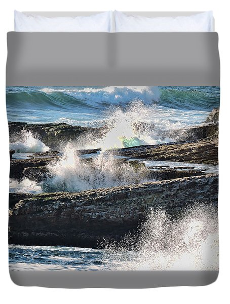 Splish Splash Duvet Cover