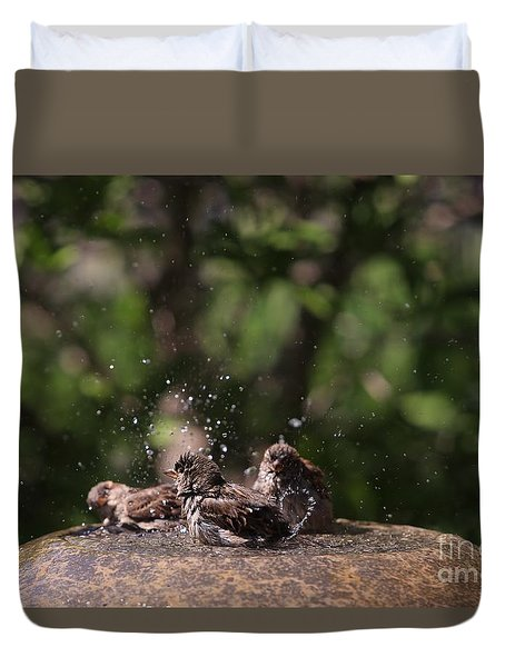 Splish Splash Duvet Cover