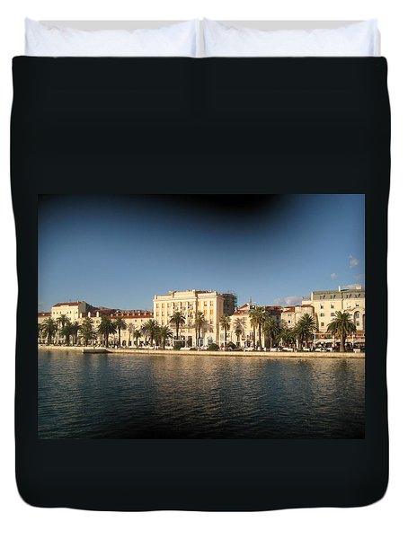Split- Croatia Duvet Cover