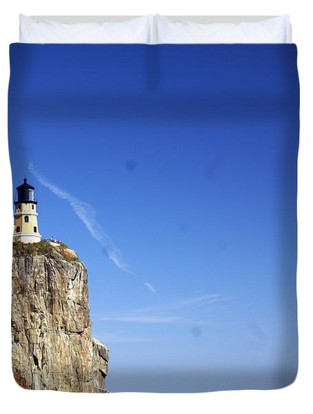Split Rock 1 Duvet Cover
