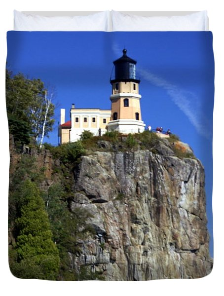 Split Rock 2 Duvet Cover