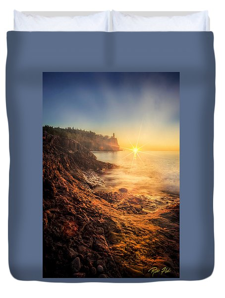 Split Rock Glory Duvet Cover