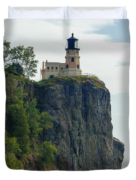 Split Rock Lightouse Duvet Cover