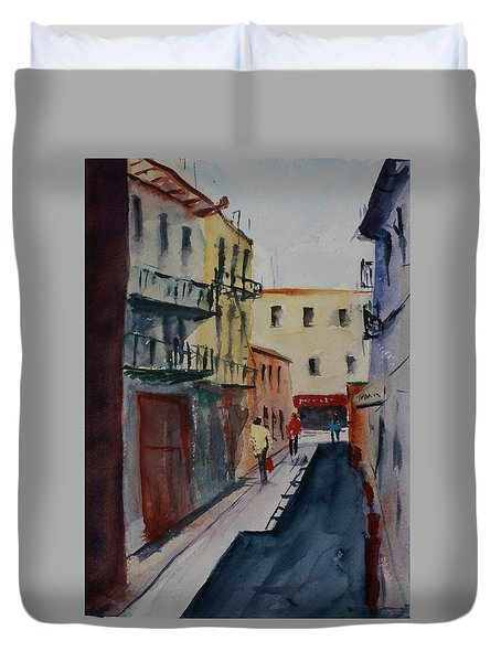 Spofford Street2 Duvet Cover by Tom Simmons