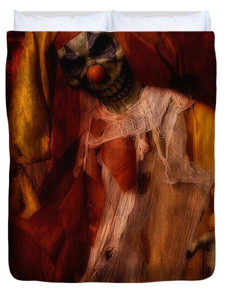 Spoils, The Clown Duvet Cover