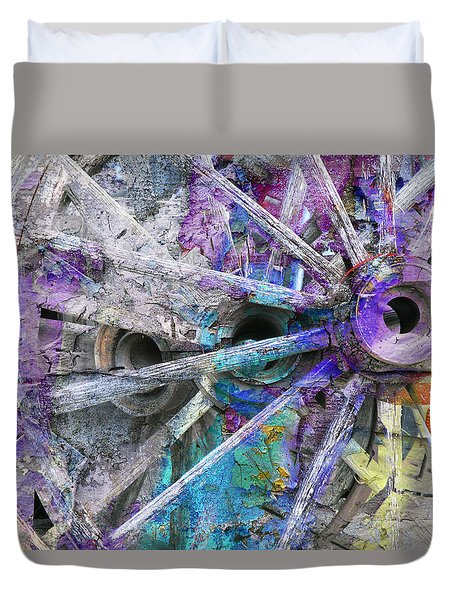 Spokin Duvet Cover by Ed Hall