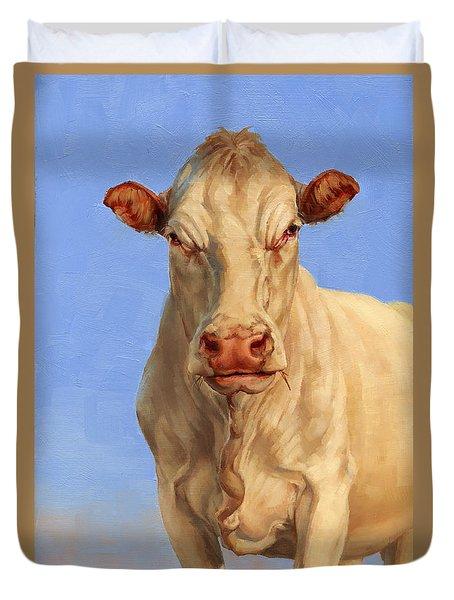 Spooky Cow Duvet Cover
