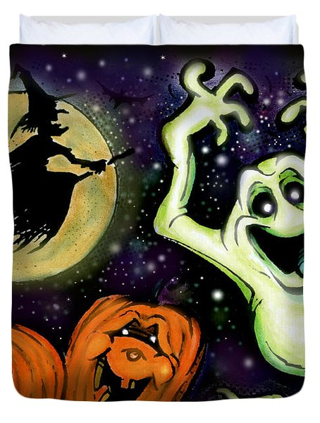 Spooky Duvet Cover by Kevin Middleton