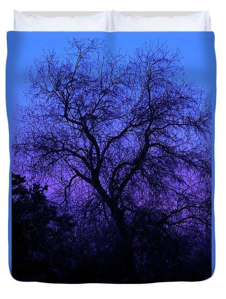 Spooky Tree Duvet Cover by Paul Marto