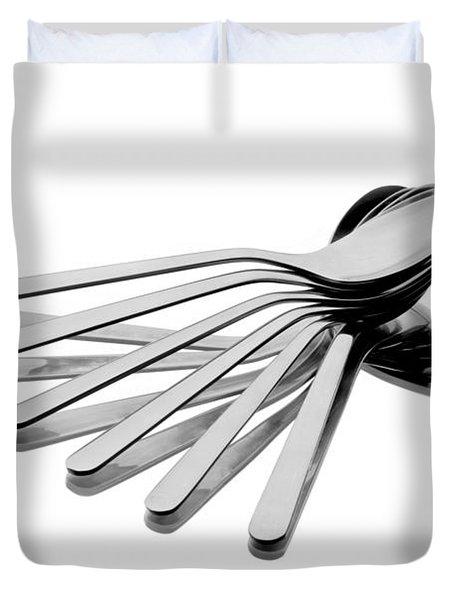 Spoon Fan Duvet Cover by Gert Lavsen