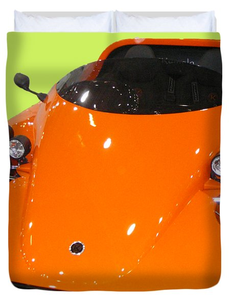 Sports Car Duvet Cover
