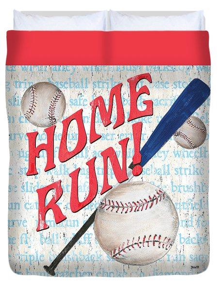 Sports Fan Baseball Duvet Cover