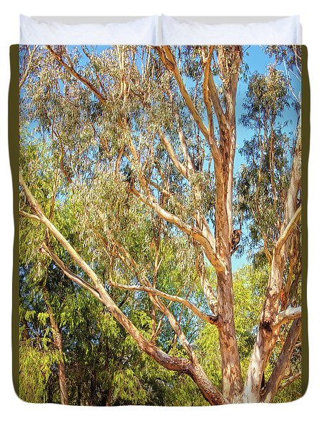 Spot The Koala, Yanchep National Park Duvet Cover