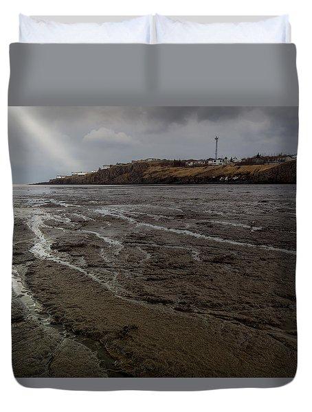 Spotlight On Iceland Duvet Cover