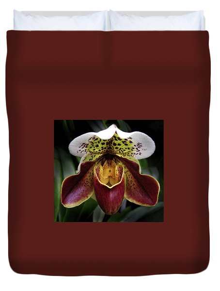 Spotty Orchid Duvet Cover
