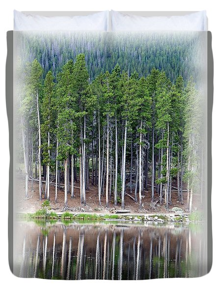 Sprague Lake 03 Duvet Cover