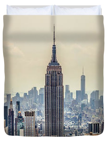 Sprawling Urban Jungle Duvet Cover by Az Jackson