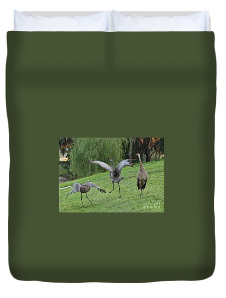 Spread Your Wings Duvet Cover by Carol Groenen