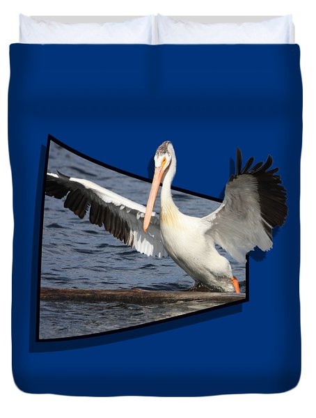 Spread Your Wings Duvet Cover by Shane Bechler