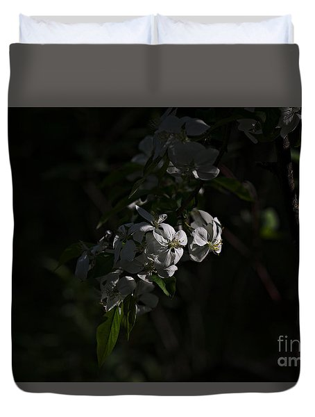 Duvet Cover featuring the photograph Spring 2016 10 by Cendrine Marrouat