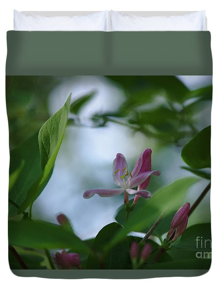 Duvet Cover featuring the photograph Spring 2016 11 by Cendrine Marrouat