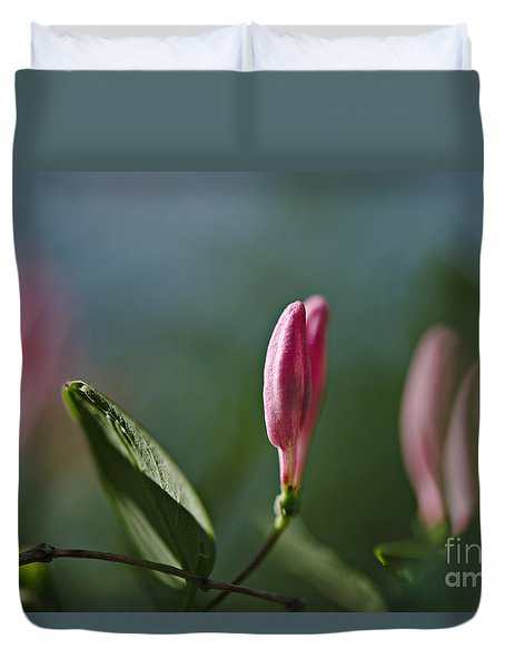 Duvet Cover featuring the photograph Spring 2016 12 by Cendrine Marrouat