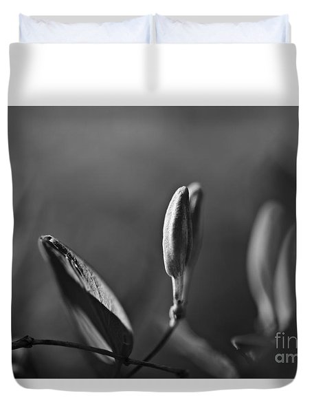 Duvet Cover featuring the photograph Spring 2016 13 by Cendrine Marrouat