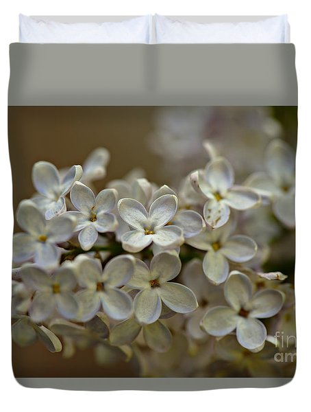 Duvet Cover featuring the photograph Spring 2016 14 by Cendrine Marrouat