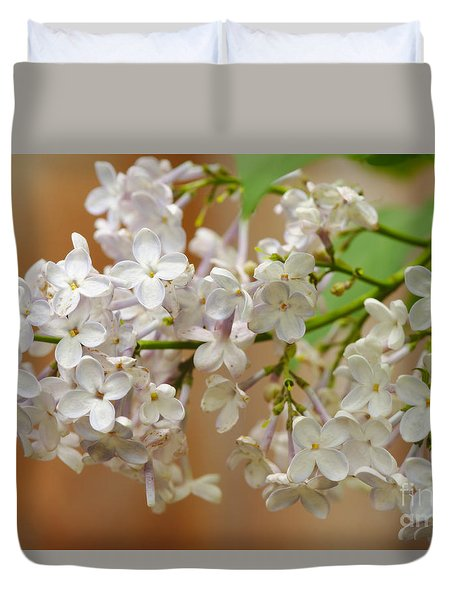 Duvet Cover featuring the photograph Spring 2016 15 by Cendrine Marrouat