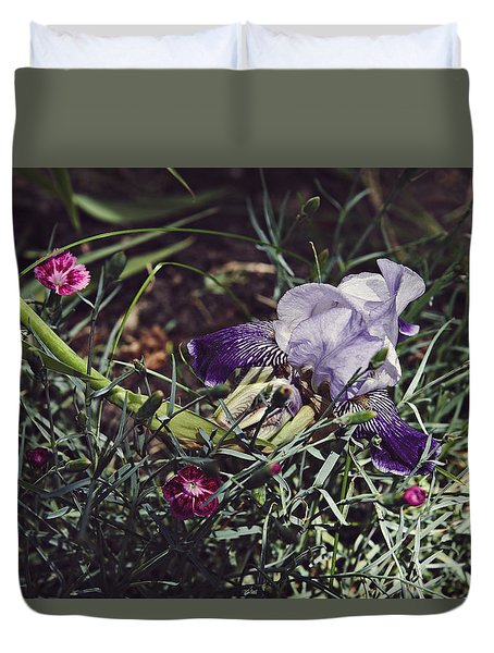 Duvet Cover featuring the photograph Spring 2016 17 by Cendrine Marrouat