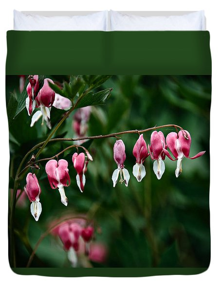 Duvet Cover featuring the photograph Spring 2016 22 by Cendrine Marrouat