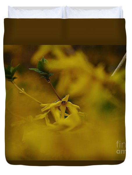 Duvet Cover featuring the photograph Spring 2016 7 by Cendrine Marrouat
