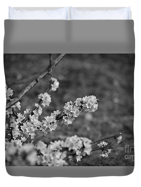 Duvet Cover featuring the photograph Spring 2016 9 by Cendrine Marrouat