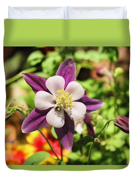 Duvet Cover featuring the photograph Spring Ahead by Living Color Photography Lorraine Lynch