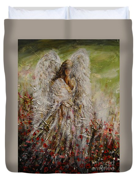 Spring Angel Duvet Cover