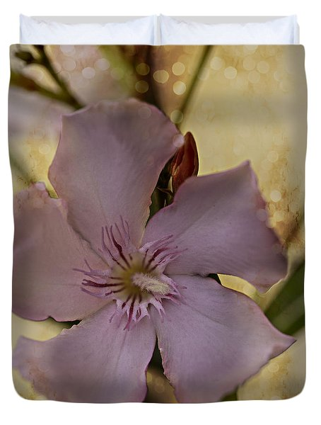 Duvet Cover featuring the photograph Spring by Annette Berglund