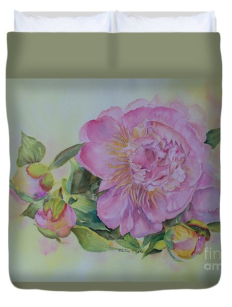 Spring Around The Corner Duvet Cover